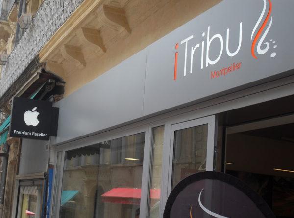 I Ttribu enseigne lumineuse Montpellier