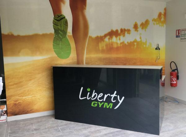 Liberty Gym Recouvrement de mobilier