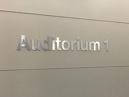 IBM signalétique de zone en lettre aluminium