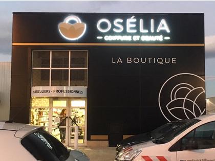 Enseigne lumineuse - Osélia