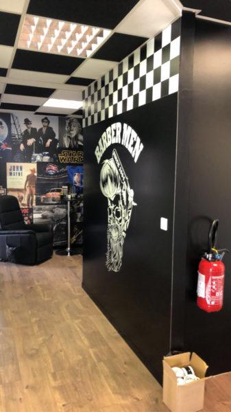 mur interieur barbermen